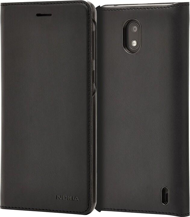 Nokia Slim Flip pouzdro CP-304 pro Nokia 2 - černá