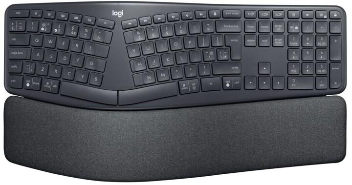 Logitech ERGO K860, graphite, US