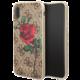 Guess 4G Flower Desire Zadní Kryt Brown pro iPhone X