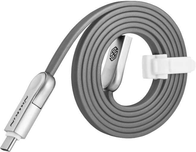 Nillkin Plus 3 microUSB/Type-C Datový Kabel šedý (EU Blister)