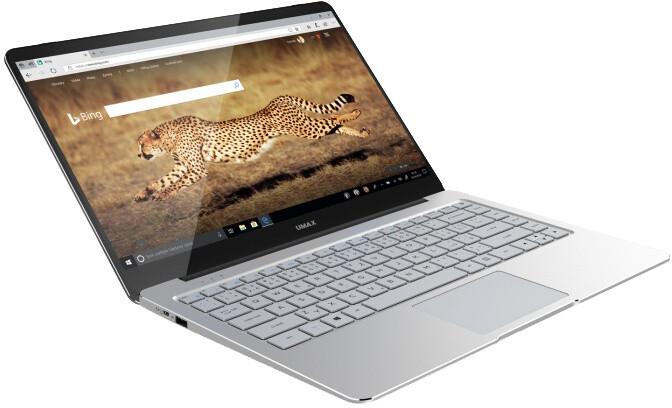 Umax VisionBook 14Wg Pro, stříbrná