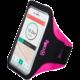 """CELLY ARMBAND sportovní neoprénové pouzdro, Velikost XL pro telefony do 5"""", růžové"""