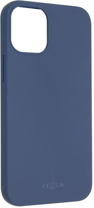 "FIXED pogumovaný kryt Story pro iPhone 12 Mini (5.4""), modrá"
