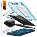Spigen ochranné sklo tR EZ Fit pro iPhone 12/12 Pro, Privacy, čirá