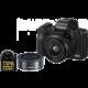 Canon EOS M50, černá + EF-M 15-45mm IS STM + EF-M 22mm STM