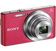 Sony Cybershot DSC-W830, růžová - DSCW830P.CE3