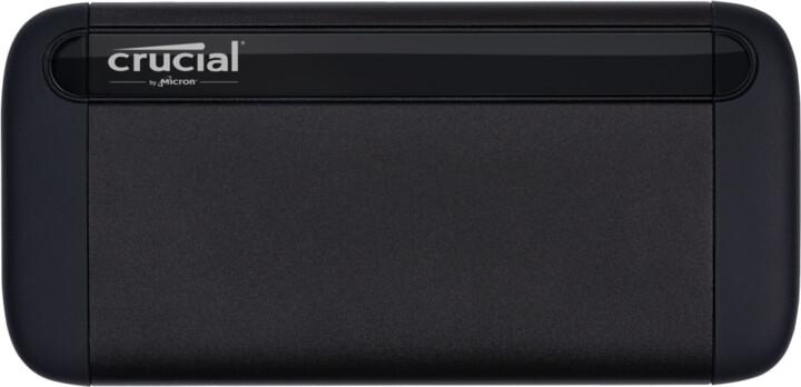Crucial X8 500GB, černá