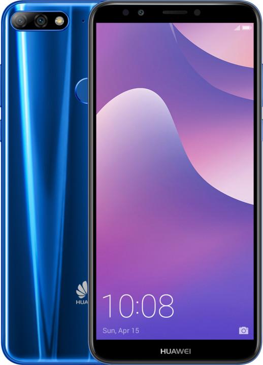 Huawei Y7 Prime 2018, Dual Sim, modrá