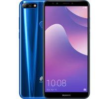 Huawei Y7 Prime 2018, 3GB/32GB, Dual Sim, modrá  + ESET mobile security 3 měsíců v hodnotě 149 Kč + Při nákupu nad 3000 Kč Kuki TV na 2 měsíce zdarma vč. seriálů v hodnotě 930 Kč