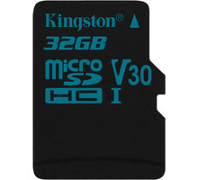Kingston Micro SDHC Canvas Go! 32GB 90MB/s UHS-I U3 - SDCG2/32GBSP