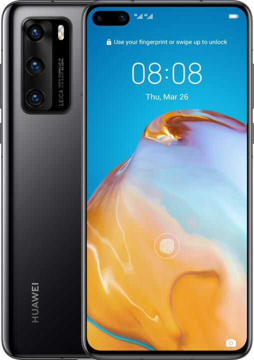 Huawei P40, 8GB/128GB, Black