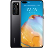 Huawei P40, 8GB/128GB, Black - SP-P40128DSBOM