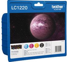 Brother LC-1220VALBP, multipack, černá + barevné - LC1220VALBP