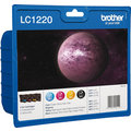 Brother LC-1220VALBP, multipack, černá + barevné