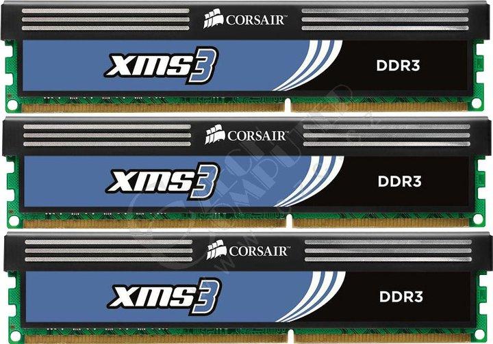Corsair XMS3 6GB (3x2GB) DDR3 1600 (CMX6GX3M3A1600C9)