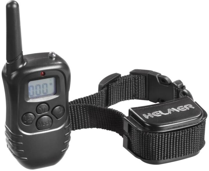 HELMER elektronický výcvikový obojek pro psy TC 20/ délka obojku max 51 cm