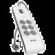 Belkin SurgeStrip přepěťová ochrana, 6 zásuvek, USB