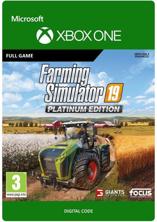 Farming Simulator 19: Platinum Edition (Xbox ONE) - elektronicky