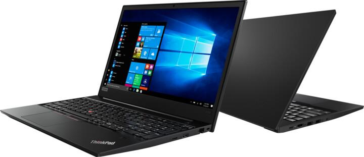 Lenovo ThinkPad E580, černá