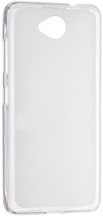 FIXED TPU gelové pouzdro pro Microsoft Lumia 650, bezbarvá