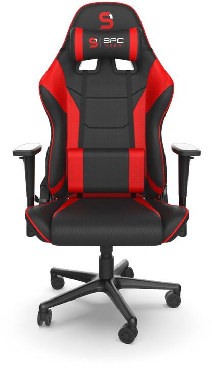SPC Gear SR300F V2 RD, černá/červená