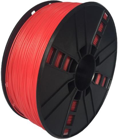 Gembird tisková struna (filament), flexibilní, 1,75mm, 1kg, červená