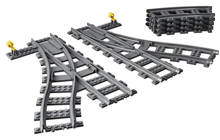 LEGO City 60238 Výhybky, 8 ks výhybek
