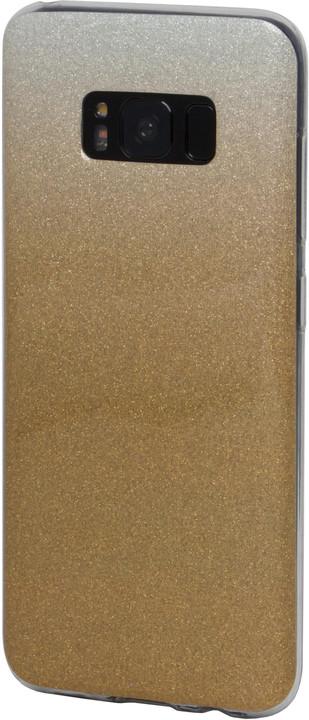EPICO plastový kryt pro Samsung Galaxy S8 GRADIENT - zlatý