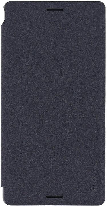Nillkin Sparkle Folio pouzdro pro Sony E2303 Xperia M4 Aqua, černá