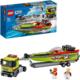 LEGO® City 60254 Přeprava závodního člunu
