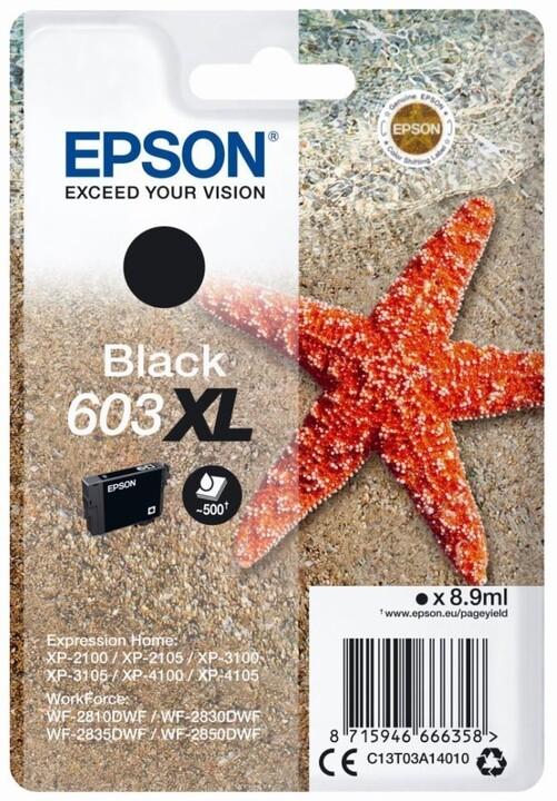 Epson T03A1, černá, XL