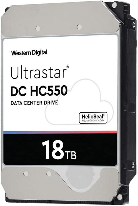"WD Ultrastar DC HC550, 3,5"" - 18TB"