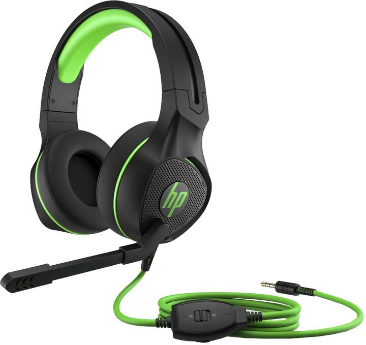HP Pavilion Gaming 400, černá/zelená