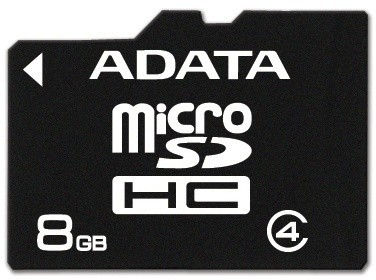 ADATA Micro SDHC 8GB Class 4