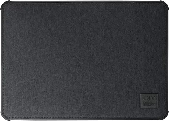 UNIQ dFender Tough LaptopSleeve (Up to 15 Inche), charcoal