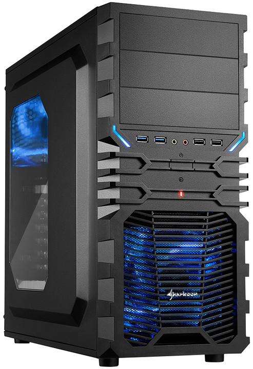 Sharkoon VG4-W, černo-modrá