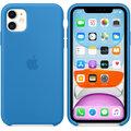 Apple silikonový kryt pro iPhone 11, modrá