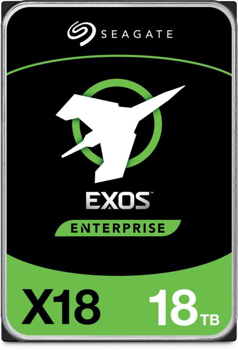 """Seagate Exos X18, 3,5"""" - 18TB"""