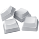 Razer vyměnitelné klávesy Phantom Keycap Upgrade Set, bílé