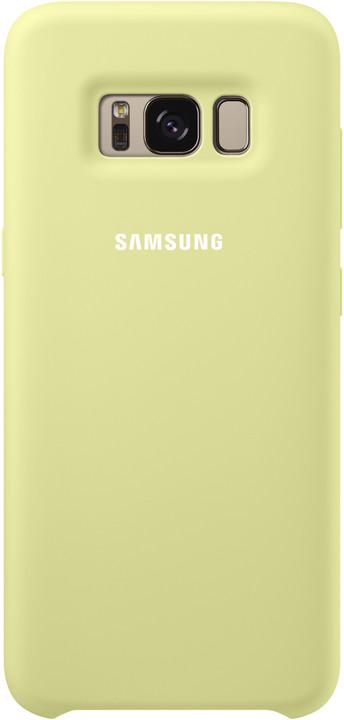Samsung S8 silikonový zadní kryt, zelená