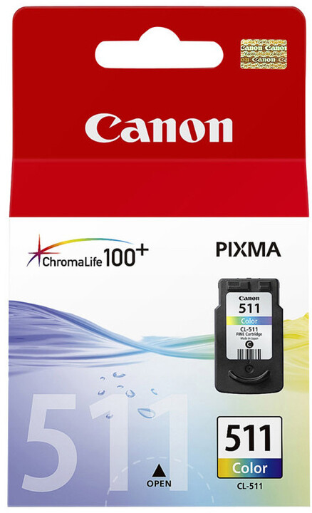 Canon CL-511, barevná
