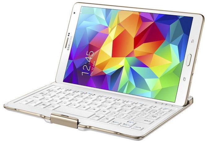Samsung pouzdro s klávesnicí EJ-CT700UAE pro Galaxy Tab S 8.4 7840e1cb7be