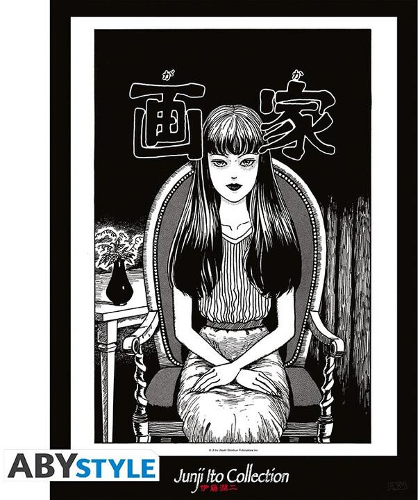 Plakát Junji Ito - Tomie