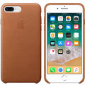 Apple kožený kryt na iPhone 8 Plus / 7 Plus, sedlově hnědá