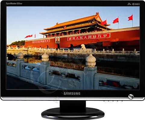 "Samsung SyncMaster 931BW černý - LCD monitor 19"""