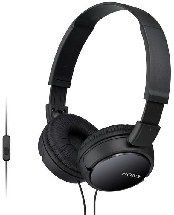 Sony MDR-ZX110AP, černá