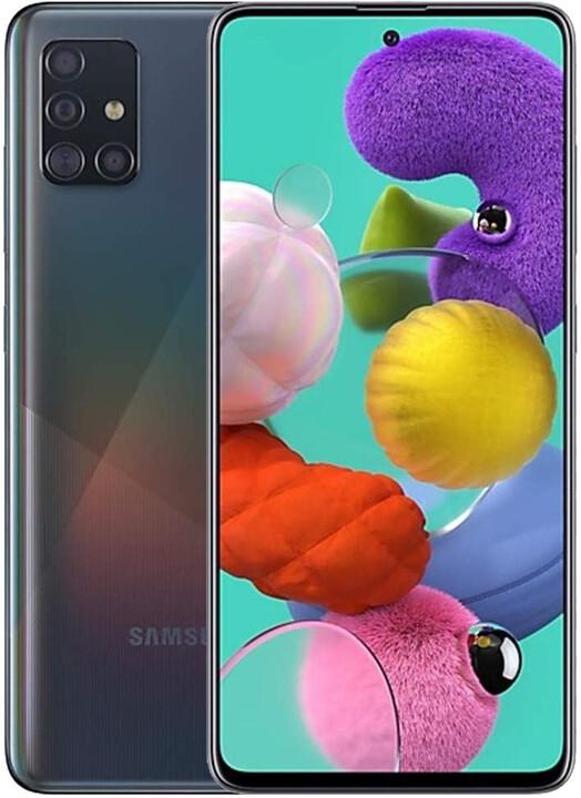 Samsung Galaxy A51, 4GB/128GB Black