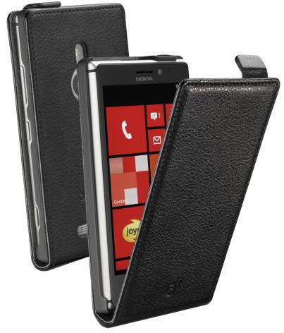 CellularLine Flap Essential pouzdro pro Nokia Lumia 925, černá