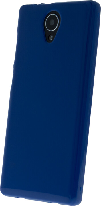 myPhone silikonové (TPU) pouzdro pro FUN LTE, modrá