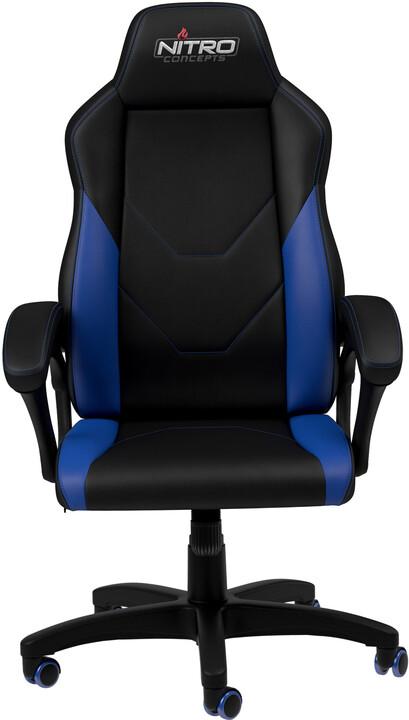 Nitro Concepts C100, černá/modrá